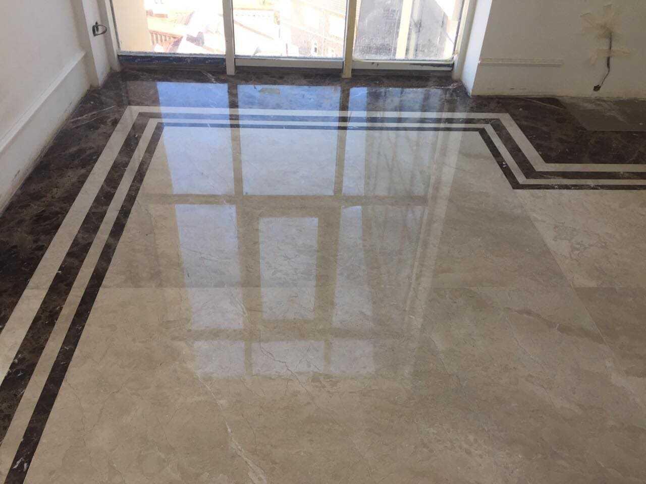 наливна мраморна підлога