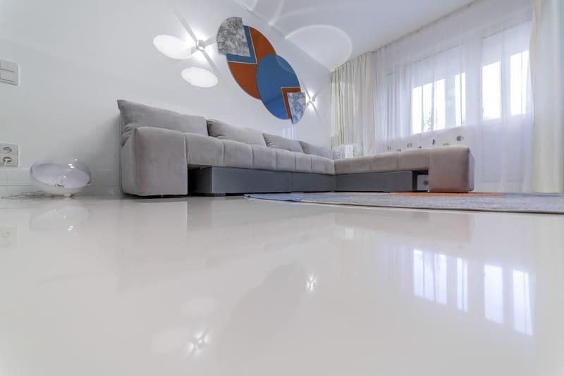 наливна підлога, ціна